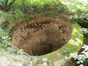 A lime kiln, used in the late 1800s, for the burning of calcite, mined from the caves on our estate and surrounds to supply in the cement needs of the emerging gold mining industry on the Witwatersrand