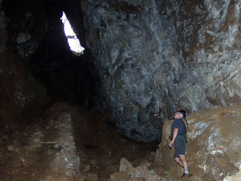 The Entrance to Bolts Cave on a property adjacent to our Estate